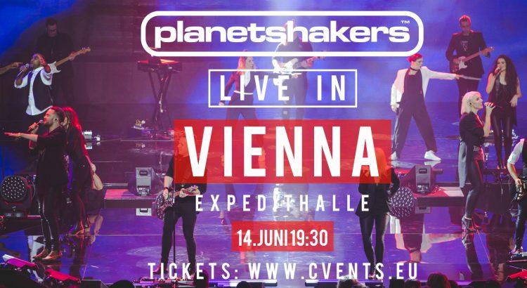 Planetshakers kommen nach Wien